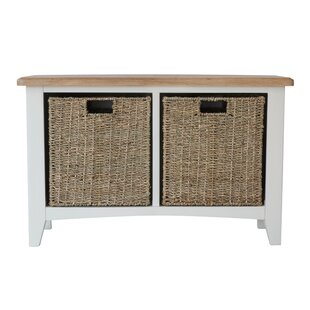 Canndale Wood Storage Bench By August Grove