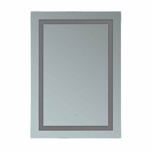 Comparison Butcher Illuminated Bathroom Wall Mirror By Orren Ellis