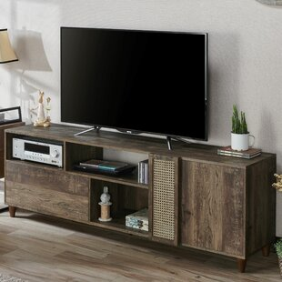 Coupon Bellicent TV Stand for TVs up to 70 by Union Rustic Reviews (2019) & Buyer's Guide