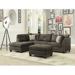 Dorcheer Sectional with Ottoman