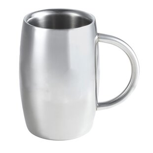 Emerald Beer Glass 14 oz. Stainless Steel