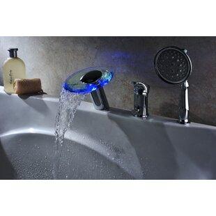 Bathtub Faucet With Sprayer Wayfair