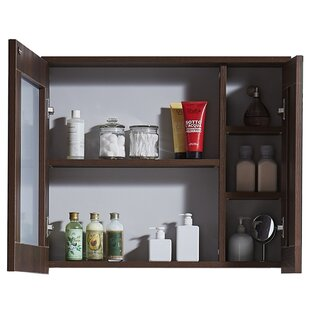 In 35 Series 23.6 x 25.6 Surface Mount Framed Medicine Cabinet by InFurniture