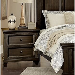 Hemel 2 Drawer Nightstand by Charlton Home