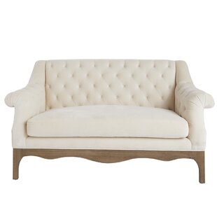 Abdirahim Chesterfield 60 Rolled Arm Sofa by Red Barrel Studio