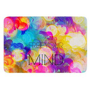 Free Your Mind by Ebi Emporium Bath Mat