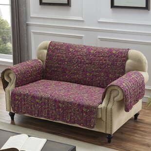 Reich Box Cushion Loveseat Slipcover By August Grove