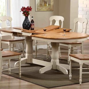 Extendable Solid Wood Dining Table Iconic Furniture