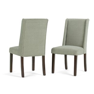 Simpli Home Sotherby Deluxe Upholstered Dining Chair (Set of 2)