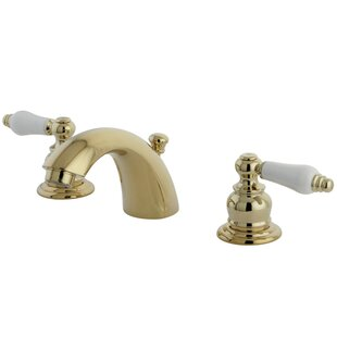 Price comparison Elizabeth Widespread faucet Bathroom Faucet with Drain Assembly By Elements of Design