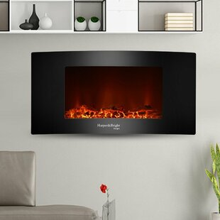 Wall Mounted Electric Fireplace by Harper&Bright Designs