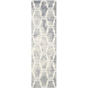 Compare & Buy Hand-Tufted Wood Gray/Ivory Area Rug ByBungalow Rose