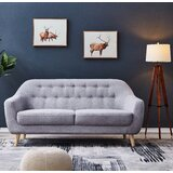 Montreal Microsuede 66.9 Round Arm Loveseat by George Oliver