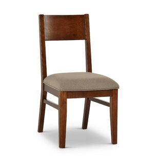 Lehto Upholstered Dining Chair (Set of 2) Union Rustic