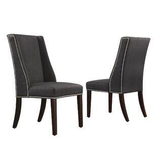 Three Posts Chicago Parsons Chair (Set of 2)