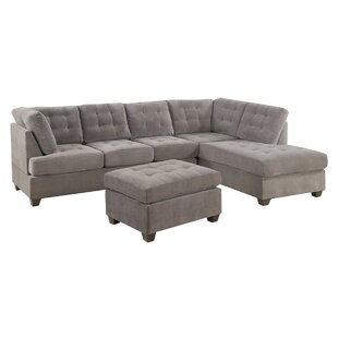 Worksop Sectional with Ottoman