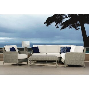 Manhattan Deep Sunbrella Seating Group with Cushions By Sunset West