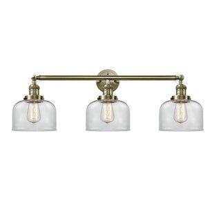 Williston Forge ArAgon Bell 3-Light Vanity Light