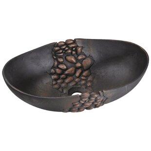 Find for Bronze Oval Vessel Bathroom Sink ByMR Direct
