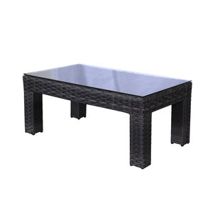 Donley Wicker Coffee Table