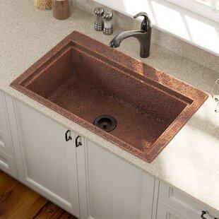 Copper 31 L X 20 W Drop In Kitchen Sink
