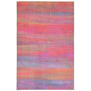 Richter Stripe Pink Indoor/Outdoor Area Rug