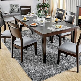 Wrought Studio Stiner Wooden Drop Leaf Dining Table