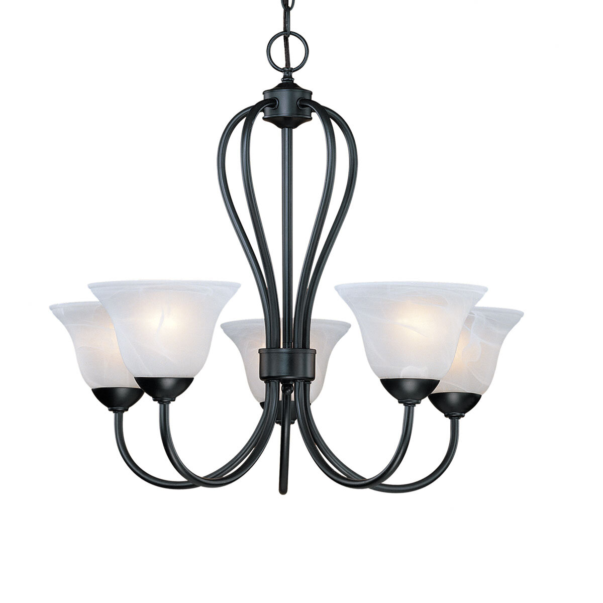Red Barrel Studio Baldridge 5 Light Shaded Classic Traditional Chandelier Reviews Wayfair