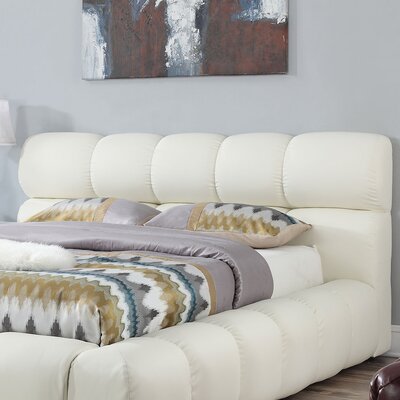 Felton Upholstered Panel Headboard Brayden Studio