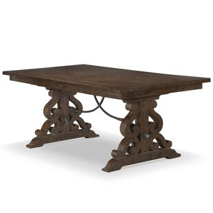 Amandier Solid Wood Dining Table by One Allium Way Coupon