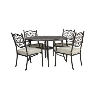 Elizabeth 4 Seater Dining Set With Cushions Image