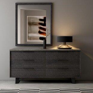 Soleil 6 Drawer Double Dresser