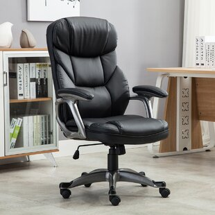 Deluxe Genuine Leather Executive Chair by Belleze 2019 Coupon