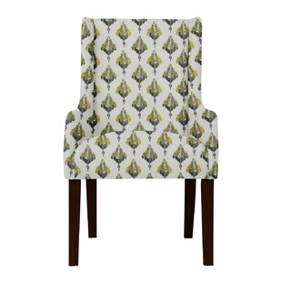 Larrabee Cotton Arm Chair by Red Barrel S..