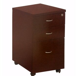 Engasser Spacious 3 Drawer Vertical Filing Cabinet