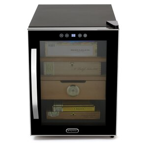 Elite Touch Control Single Zone Freestanding Wine Cooler by Whynter