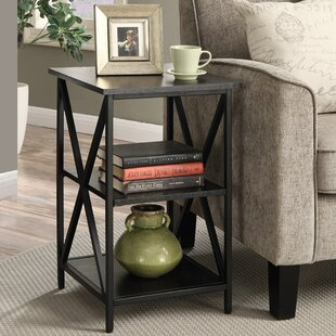 Comparison Creeksville End Table With Storage By Andover Mills