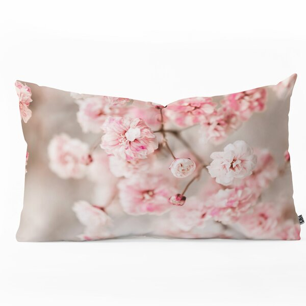 23 x 23 Square Floor Pillow Kess InHouse Ingrid Beddoes Pink Blush