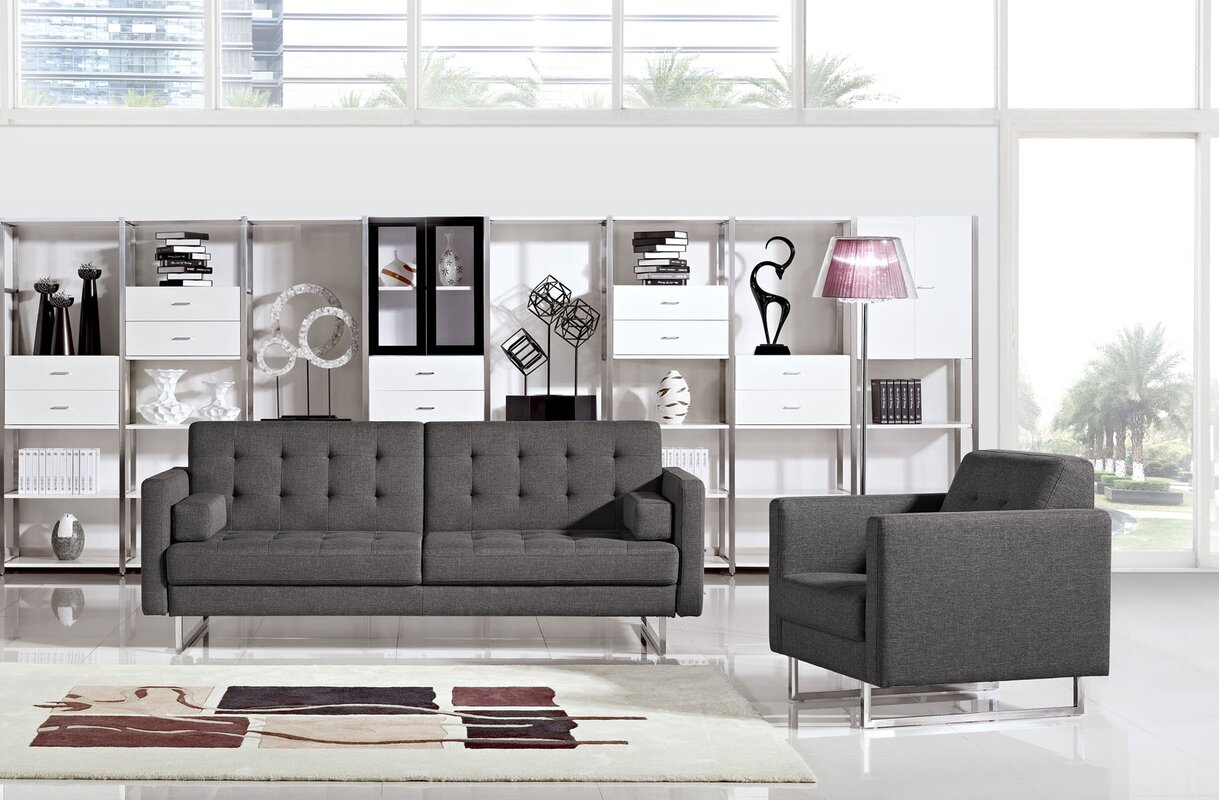 Brayden Studio Tinna 2 Piece Living Room