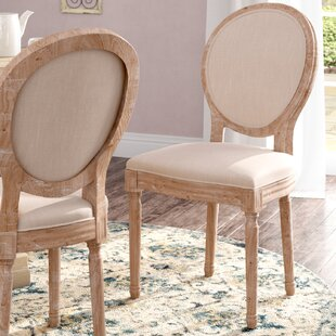 Renne Upholstered Dining Chair (Set of 2) by Lark Manor