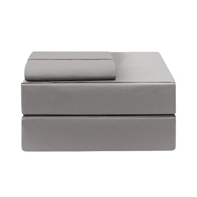 Eckhoff Count Sheet Set 17 Stories Color: Charcoal, Size: Twin