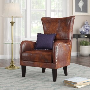 Gordon Wingback Chair by Alcott Hill