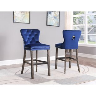 Compare Tewkesbury 30 Bar Stool (Set of 2) by Everly Quinn Reviews (2019) & Buyer's Guide