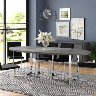 Emlenton Oval Dining Table Wade Logan