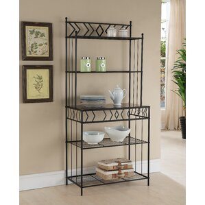 Sonja Metal Storage Baker's Rack by Zipcode Design