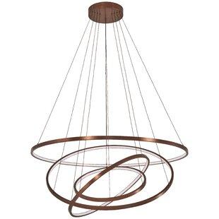 Full Orbit 4-Light Geometric Pendant by George Kovacs by Minka