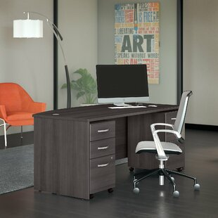 Bush Business Furniture Studio C 3 Piece Desk Office Suite