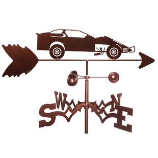 Modified Race Car Weathervane By SWEN Products