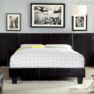 Zac Upholstered Platform Bed