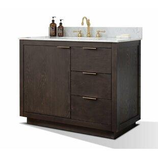 Calahan 42 Single Bathroom Vanity Set by Wrought Studio